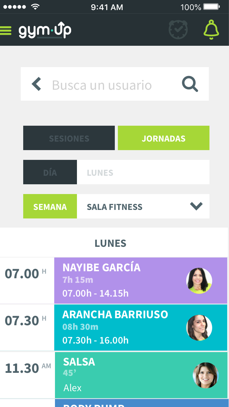 app gymup