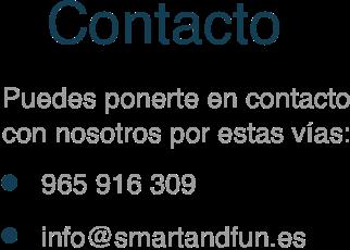 texto contacto